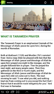 All About Taraweeh Prayer - náhled