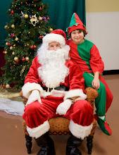 Photo: Santa Jeff & Elf Trent