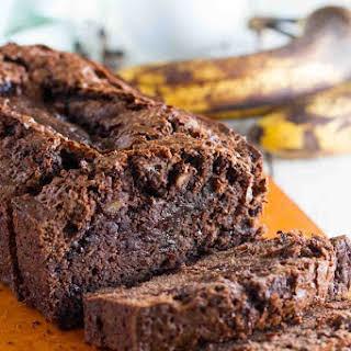 Brownie Mix Banana Bread.