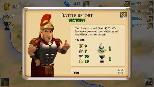 Battle Empire: Rome War Game 1.6.2 screenshots 8