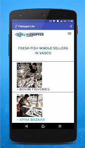 Fishopper Lite -Buy Fresh Fish screenshot 1