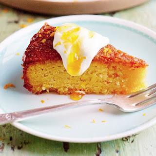 Orange And Polenta Cake