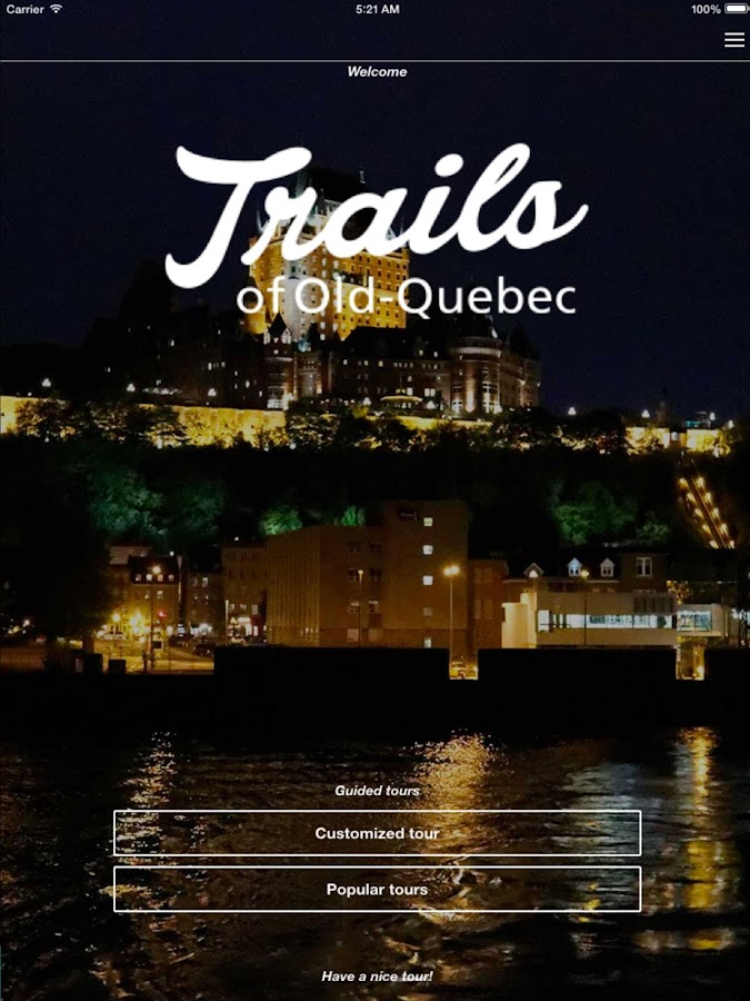 Trails of Old Quebec- screenshot