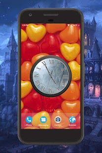 Fantasy Clock Live Wallpaper - náhled