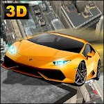 RoofTop Flying Stunts 3D Icon