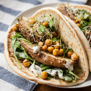 Ranch Pitas w/ Roasted Potatoes & Chickpeas