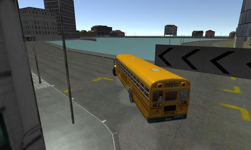 School Bus City Racing