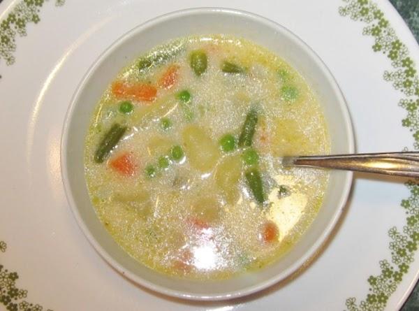 Grandma Braun's Vegetable Soup Recipe