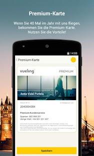 Vueling - Billigflüge - screenshot thumbnail