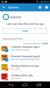 Free Antivirus and Security screenshot 1