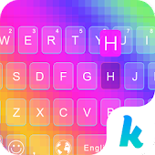Rainbow  Kika Keyboard Theme