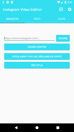 instagram video indirici