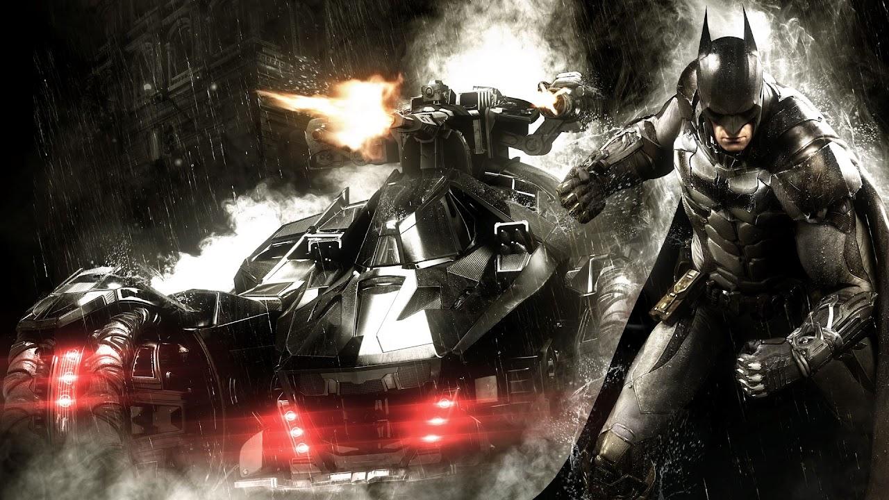 Batman e Batmobile