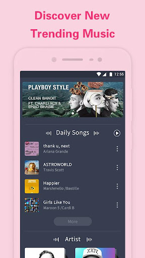 Screenshot for Free Music Player in United States Play Store