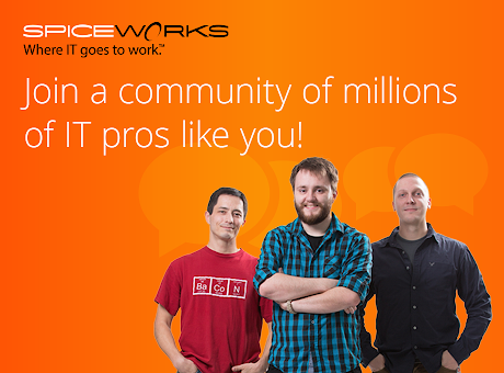 The Spiceworks IT Community