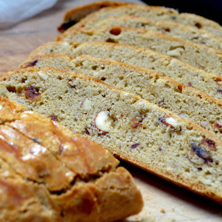 Simple Almond Date Biscotti