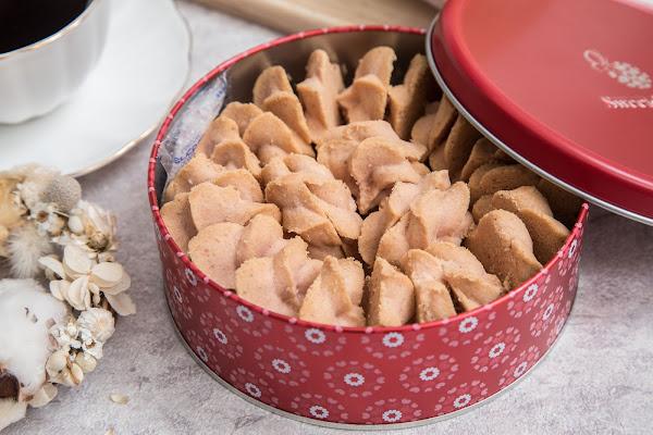 台中伴手禮聖誕年節禮盒推薦!超夯七種口味曲奇餅,還可客製專屬禮盒唷!SweetsPURE 溫感手作烘焙