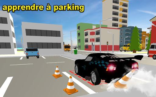 McQueen Car Parking School  captures d'écran 2