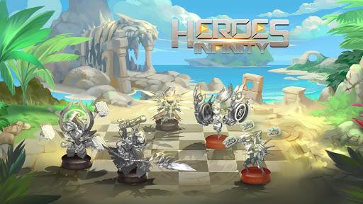 Heroes Infinity: RPG + Auto Chess + God + strategy screenshots 3