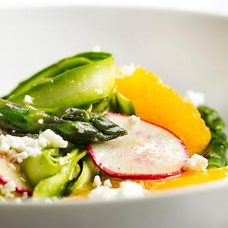 Shaved Asparagus and Orange Salad