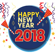 2018 New Year Photo Frames