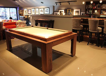 Spartan Pool Table in Penthouse Apartment