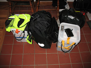 Photo: All packed for our trip to the San Juan Islands!