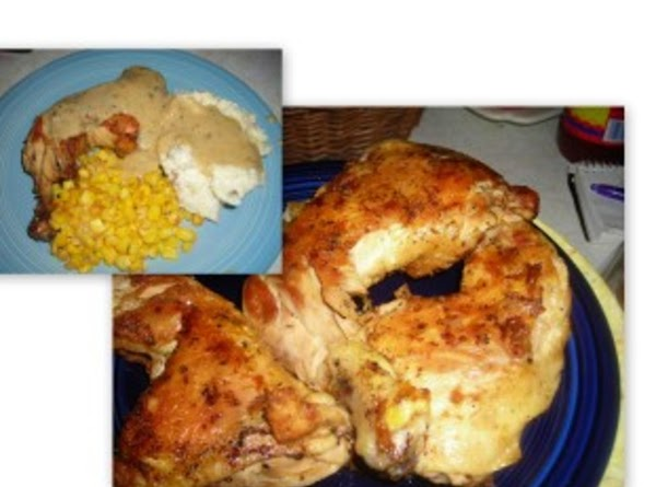 Grandma's Unbreaded Fried Chicken Recipe