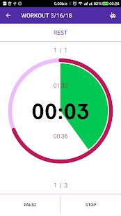Tabata Timer PRO screenshot