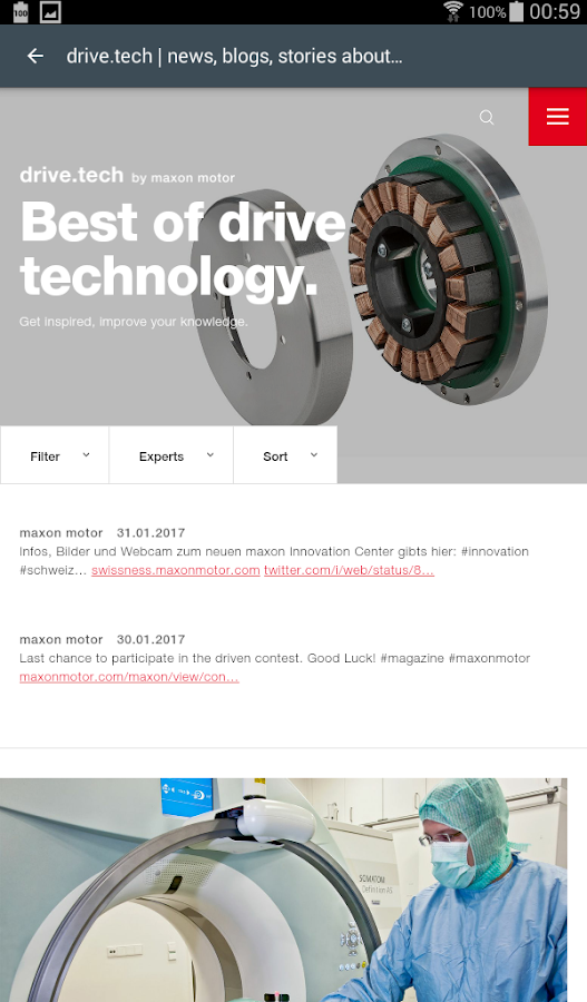 maxon motor magazine - driven- screenshot