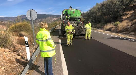 Más de 600.000 euros para reparar el firme en cinco carreteras de la provincia