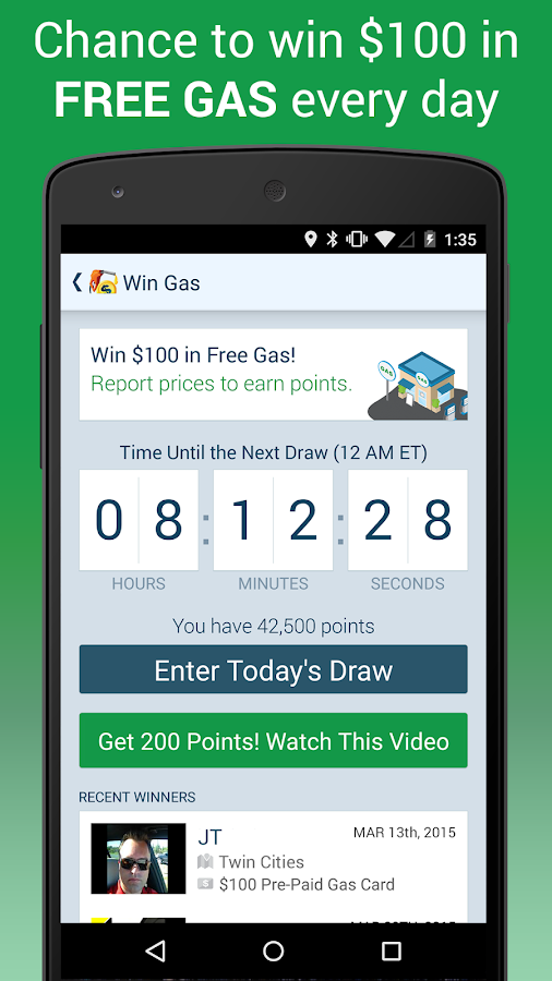 GasBuddy - Find Cheap Gas - screenshot