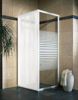 Paroi latérale pour porte de douche coulissante, 80 ou 90 cm, Phoenix III