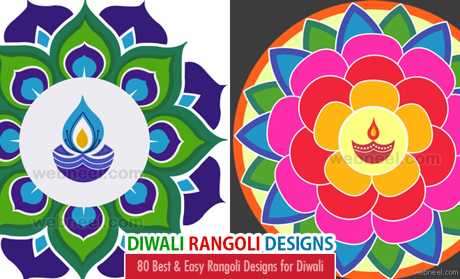 Photo: 80 Best and Easy Rangoli Designs for Diwali Festival http://webneel.com/rangoli-designs-for-diwali