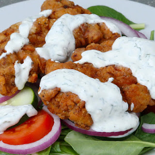 1. Fried Chicken Salad