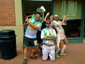 Photo: Charlie's Color Runners (v.1). Photo courtesy of Matt Devore.