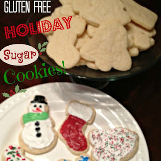 Gluten Free Sugar Cookie.