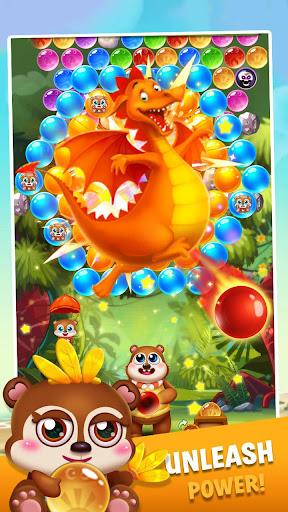 bubble shooter brown bear screenshot 1