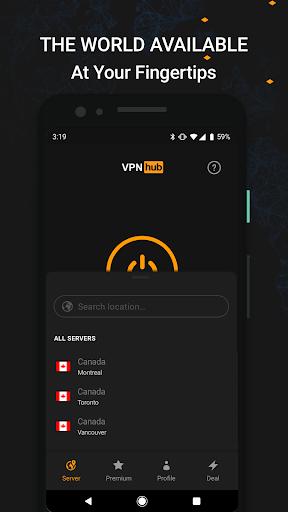 VPNhub Best Free Unlimited VPN - Secure WiFi Proxy 2.15.10-mobile Screenshots 8