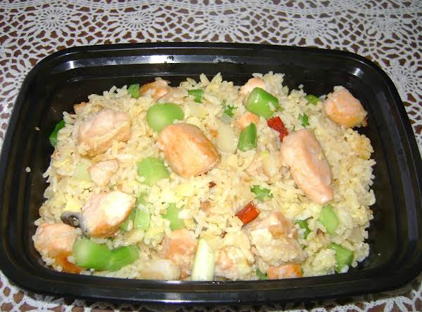 4  Salmon Fried Rice Recipe