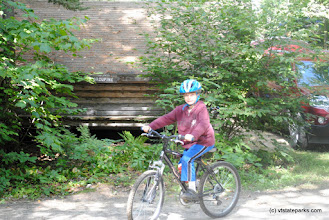 Photo: Off for a ride on my bike at Big Deer State Park by Nicole Olmstead