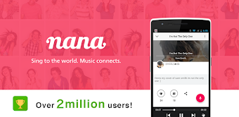 Record your music, sing! nana