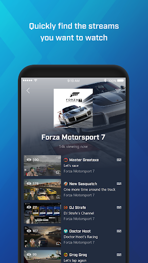 Mixer u2013 Interactive Streaming 3.1.0 screenshots 5