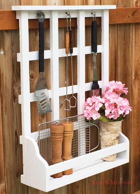 Ana white outdoor window shelf with lattice diy projects for Diy shelves philippines