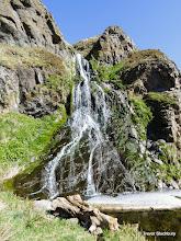 Photo: Waterfall on Woodston Burn, St Cyrus