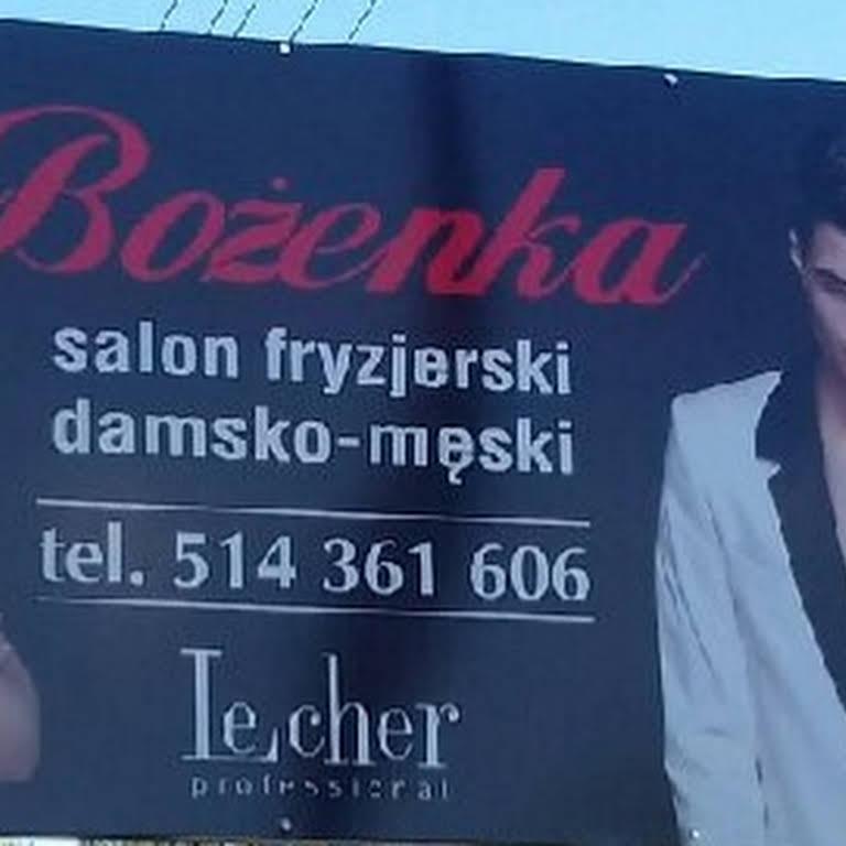 Bożenka Salon Fryzjerski Salon Fryzjerski W Tłuszcz