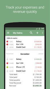 My Debts - náhled