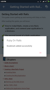 Ruby On Rails Docs- screenshot thumbnail