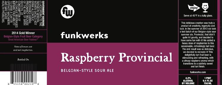 Logo of Funkwerks Raspberry Provincial
