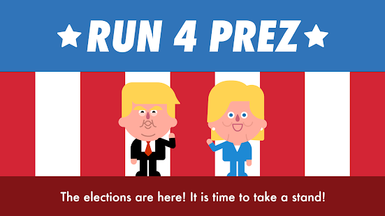 Run 4 Prez - Trump vs. Clinton- screenshot thumbnail